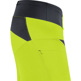 GORE WEAR C5 Trail Light Pantalones cortos Hombre, citrus green/black